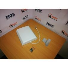 GSM, 4G, 3G, LTE mobiliojo ryšio tinklų 10dBi kryptinė antena